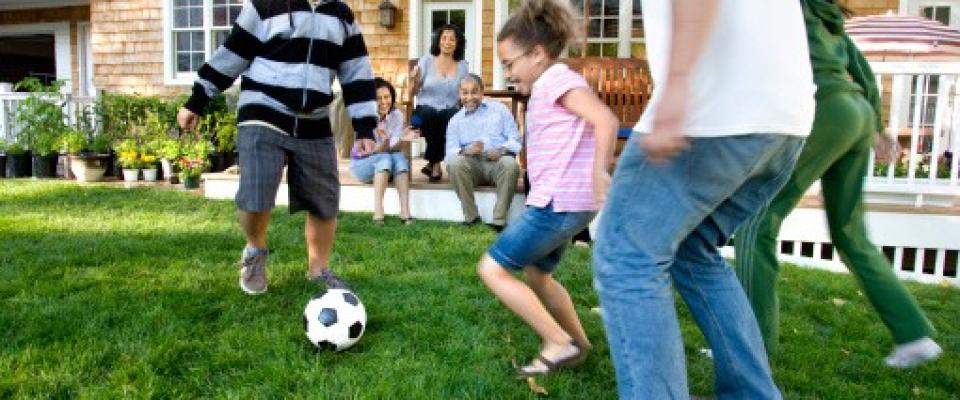 family fun soccer